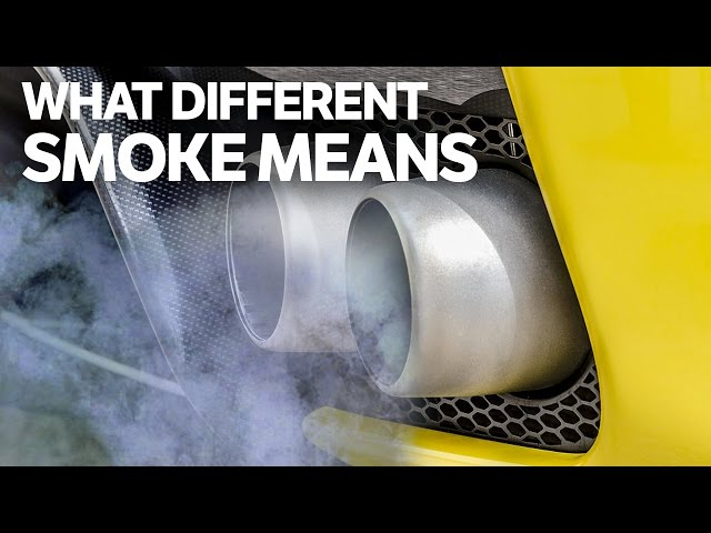 Blue Smoke From Exhaust: Common Causes And How To Fix | CAR