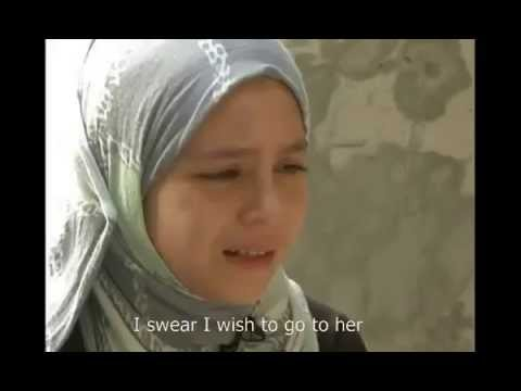 Palestinian girl lost her parents to Israeli airstrikes, Sabah's story