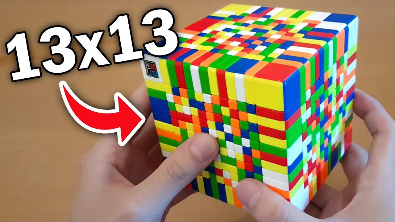 HOW I SOLVED THE GIGANTIC 13X13 RUBIK'S CUBE