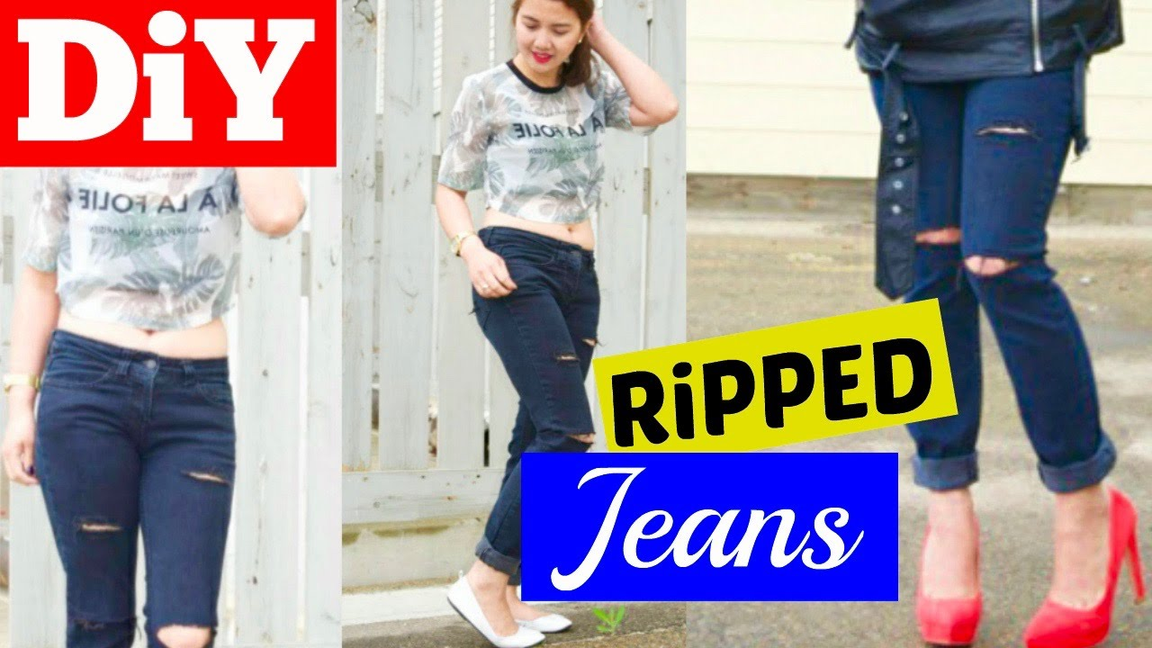 How to Distress Jeans with a Razor forecasting
