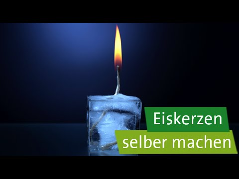 diy geschenke selber machen eiskerzen youtube. Black Bedroom Furniture Sets. Home Design Ideas