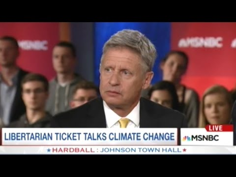 Gary Johnson Says Hillary Clinton Will Use Nuclear Weapons If She Becomes President!