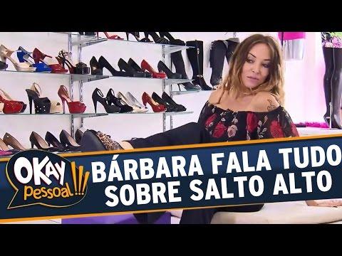 Okay Pessoal!!! (18/05/16) - Bárbara Koboldt fala tudo sobre Salto Alto