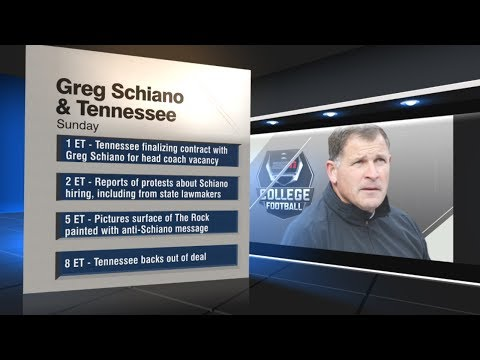 The Greg Schiano-Tennessee situation is