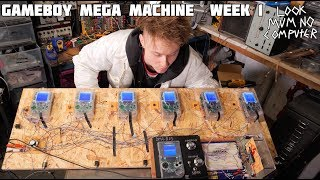 GAMEBOY MEGA MACHINE BUILD VLOG #1