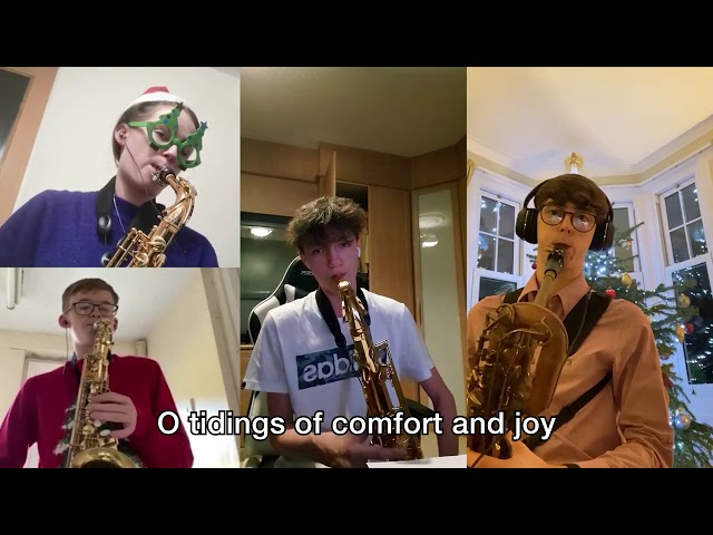 God Rest Ye Merry Gentlemen SAX edition