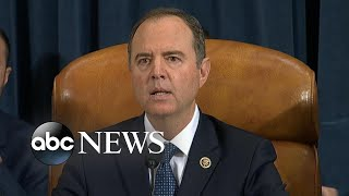 Rep. Adam Schiff delivers opening remarks on 3rd day of House impeachment hearings | ABC News