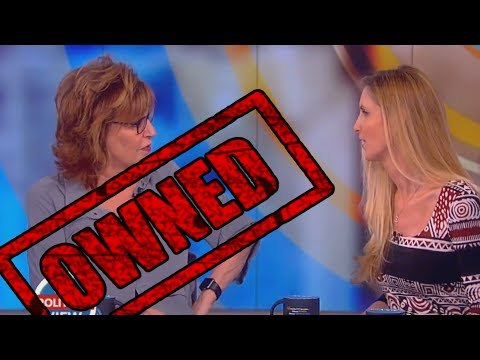 Ann Coulter OWNS The View's Joy Behar and Whoopi Goldberg on The View! - Ann Coulter and Joy Behar