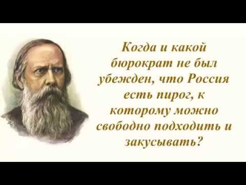 Цитаты Салтыкова-Щедрина