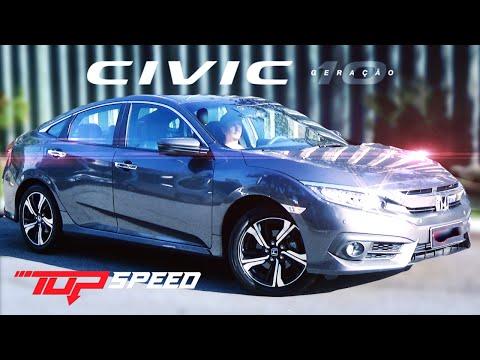 Avaliação Honda Civic Touring 1.5 Turbo 2017 | Canal Top Speed