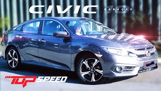 Avaliação Novo Honda Civic Touring 1.5 Turbo 2017 | Canal Top Speed