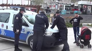 Polise tepki gösterdi, 392 lira ceza yedi