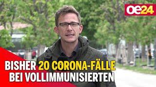 Bisher 20 Corona-Fälle bei Vollimmunisierten