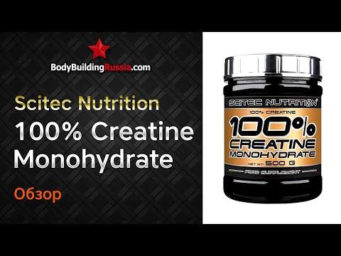 Scitec Nutrition | 100% Creatine Monohydrate | Результат от применения | Эффективность | Обзор