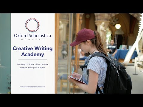 Experience Creative Writing Academy, Summer School 2020 | Oxford Scholastica