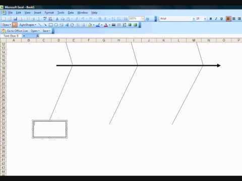 Ishikawa Fishbone Diagram Template Porsche 996 Wiring 2003 Creating A In Excel Youtube