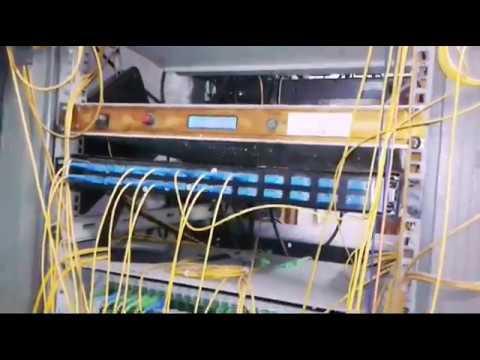 Digital Cable TV Control Room