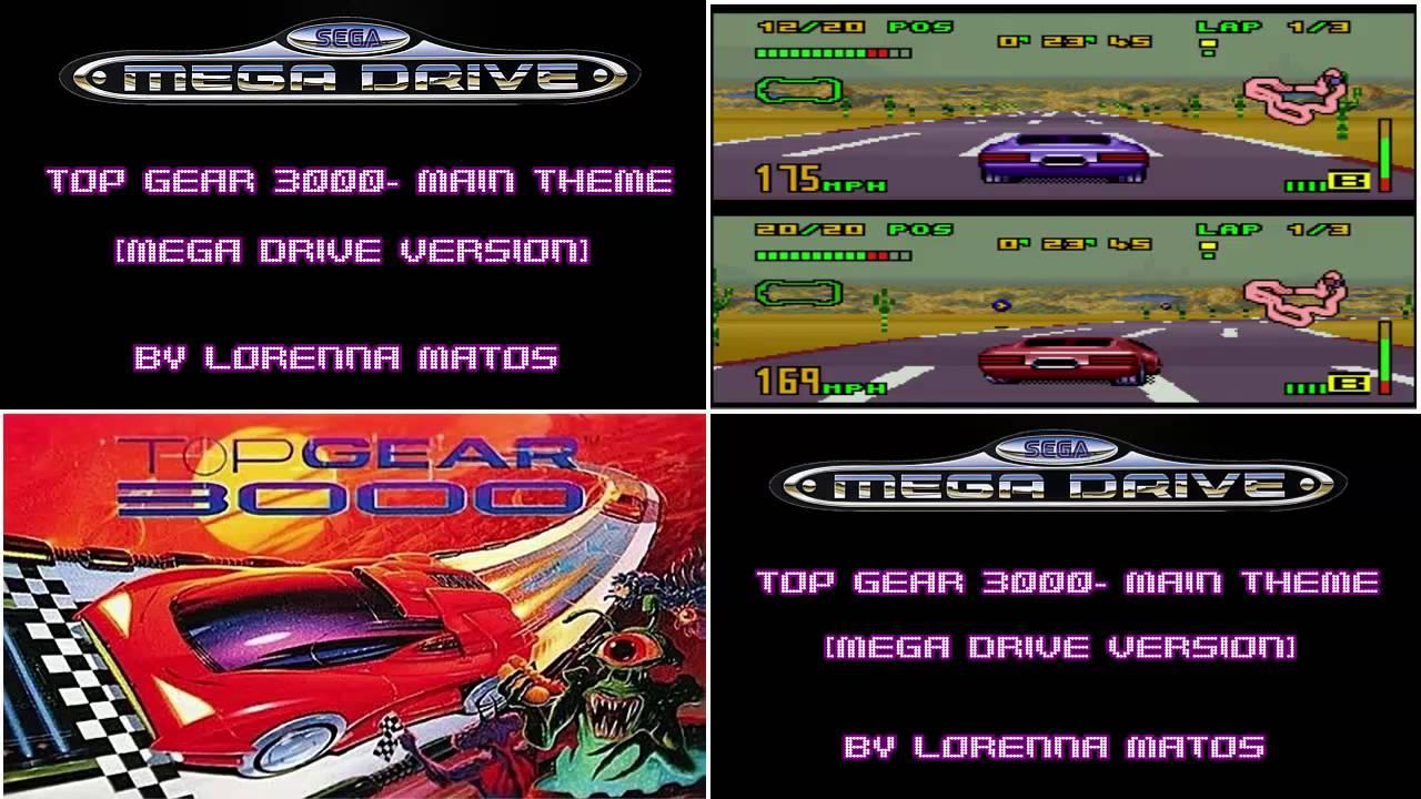 Videogame Themes: Top Gear 3000- Main Theme [Mega Drive ...