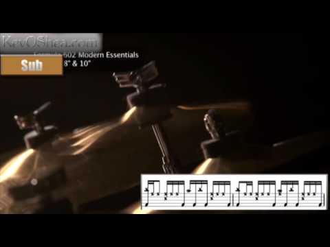 Vinnie Colaiuta - Linear type Beat | Drum Lesson