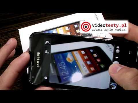 Samsung Galaxy S Advance - Recenzja Videotesty.pl