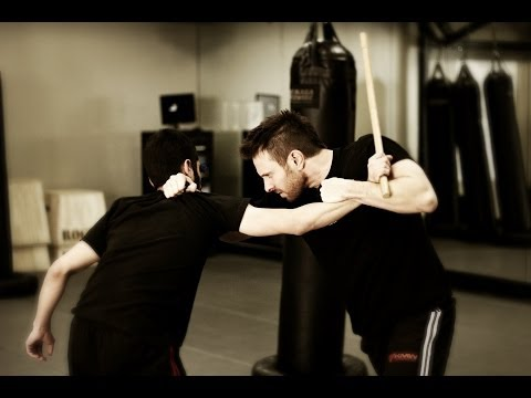 Stick Defense : Krav Maga Technique - KMW Krav Maga Self Defense w/ AJ Draven