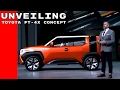 Toyota FT-4X Concept Unveiling