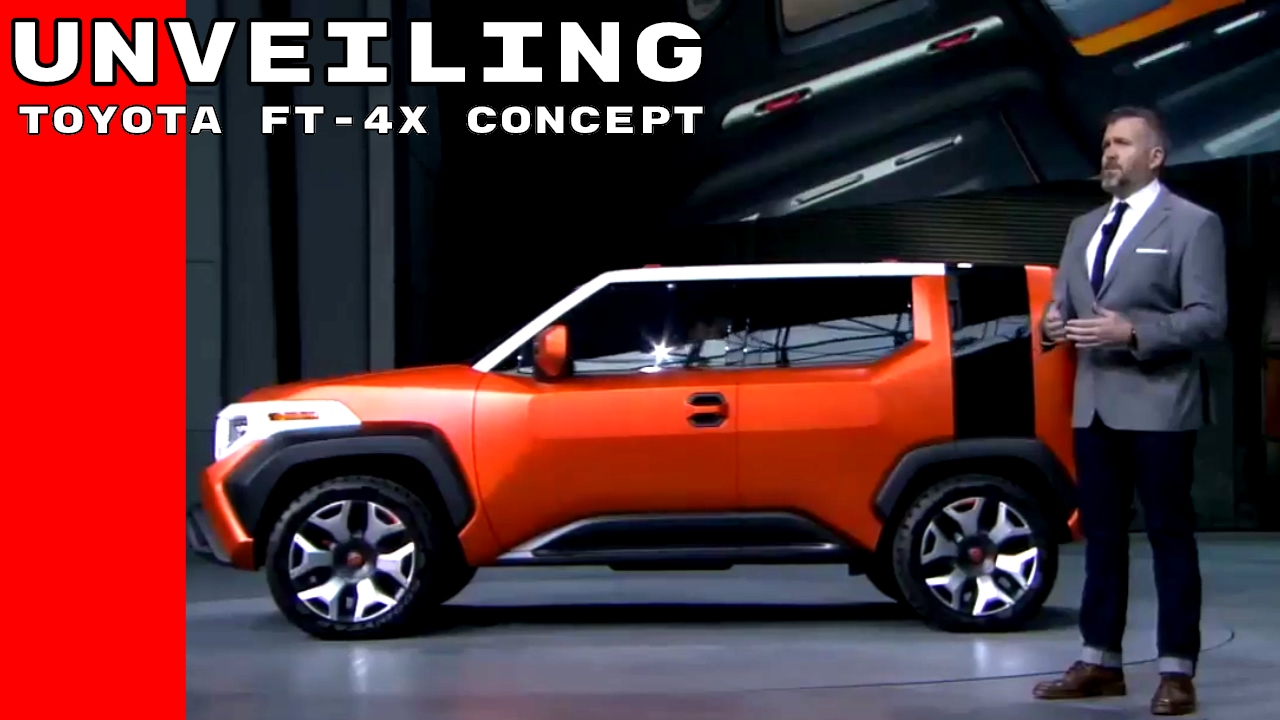 Toyota Ft 4X >> Toyota Ft 4x Concept Unveiling