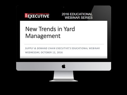 New Trends in Yard Management - WEBINAR