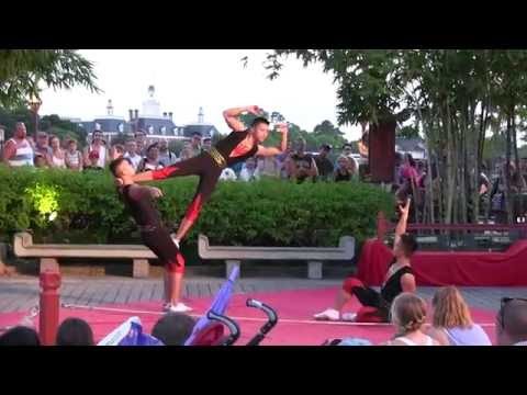 The Jewel of China Acrobats at EPCOT, Disneyworld Florida