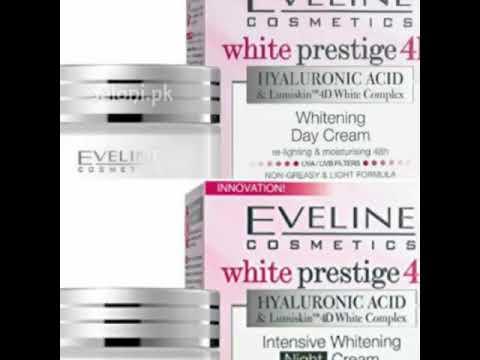 Eveline cosmetics review white prestige 4d day & night cream review