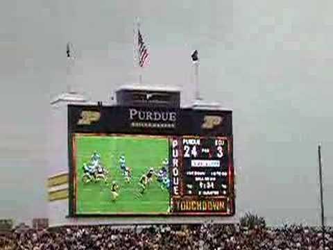 Purdue Football - EIU Player laid out