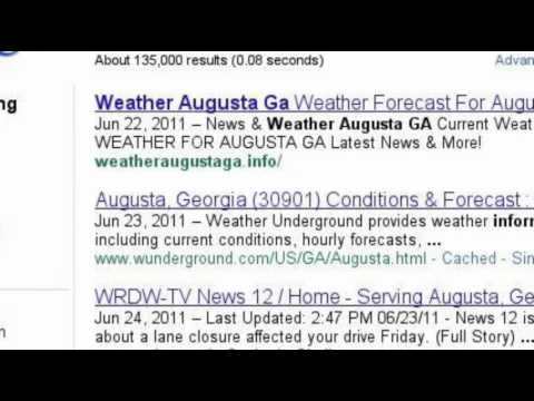 Weather Augusta GA AD