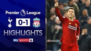 Liverpool extend unbeaten run to 38 games! | Tottenham 0-1 Liverpool | Premier League Highlights