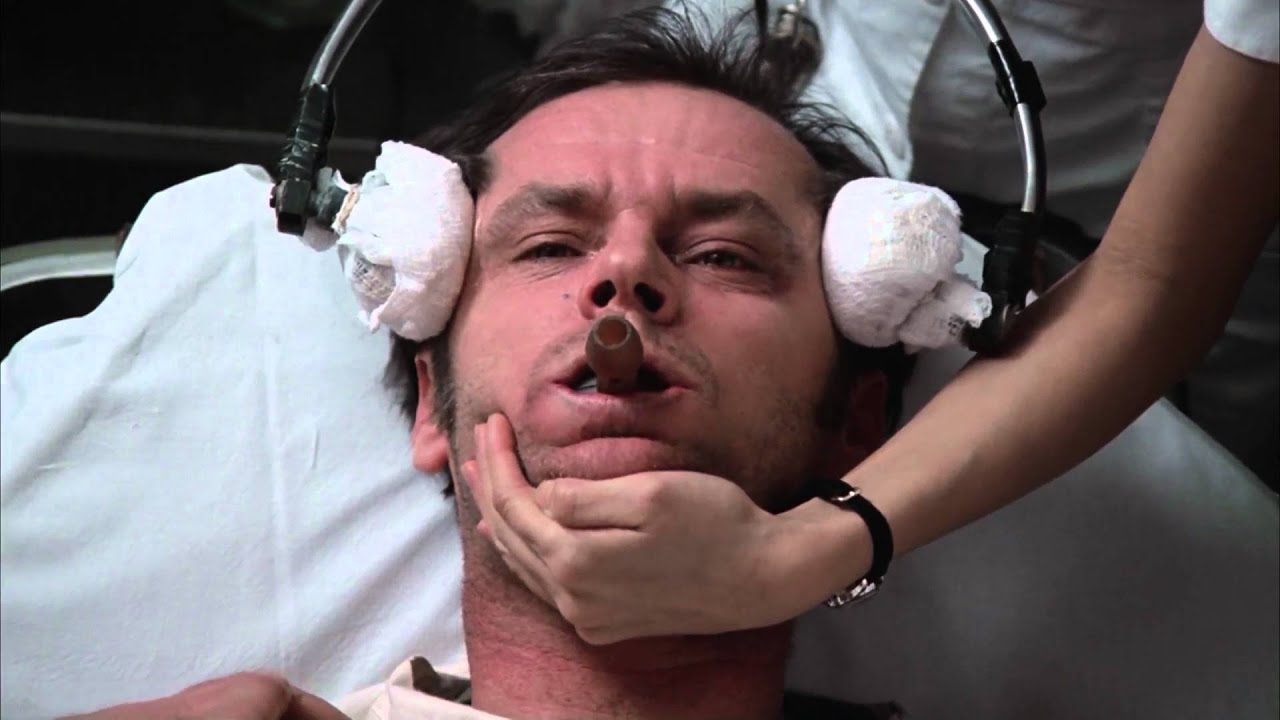 """Download ECT Scene, """"One Flew Over the Cuckoo's Nest"""" 1975"""