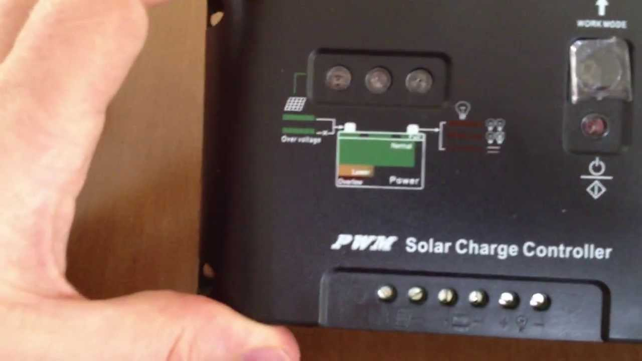 what 39 s in the box 10a 20a 30a pwm solar charge controller. Black Bedroom Furniture Sets. Home Design Ideas