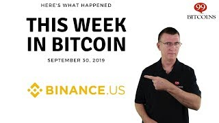This week in Bitcoin - Sep 30th, 2019