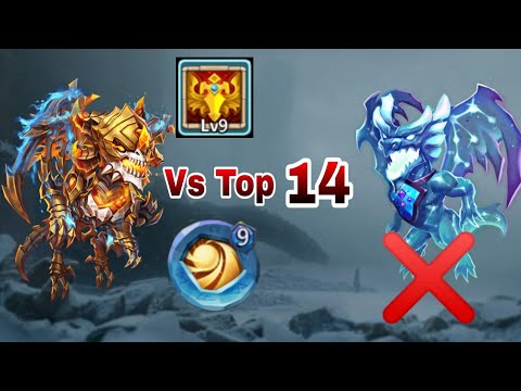 Skeletica | Vs Top-14 | 9/9 Blade Dance | Full Dodge | 9 SL Insingia | Rip Lavanica | Castle Clash