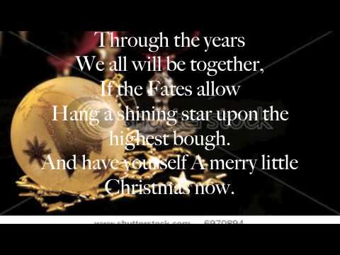 Merry Little Christmas Lyrics.Have Yourself A Merry Little Christmas Lyrics Michael Buble