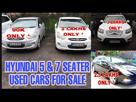 Hyundai 5 & 7 Seater Used Car For sale | Sanata Fe in 3L | Verna in 2L | Sonata in 2.5L Fahad Munshi