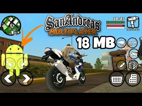 [18 MB] GTA San Andreas Multiplayer Online | Download For Android  [Apk+Data]