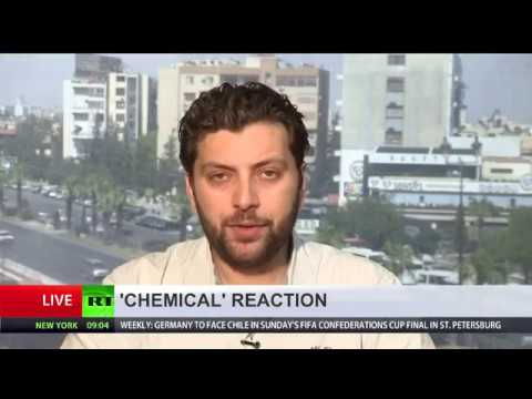 US chemical weapons attack claims in Syria, exlained by Alaa Ebrahim in Damascus