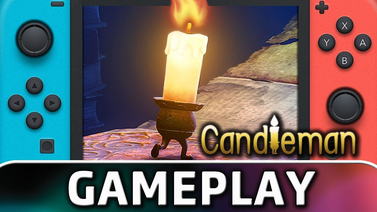 Candleman | First 20 Minutes on Nintendo Switch