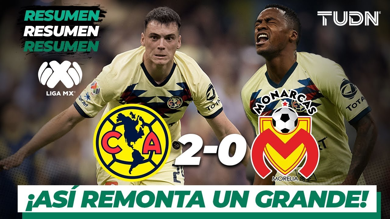 Amrica vs Morelia | Cobertura EN VIVO | Semifinal Liga MX - Futbol ...