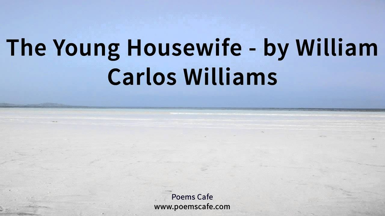 william carlos williams the young housewife