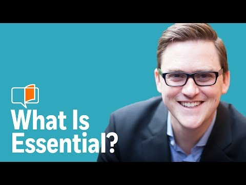Discerning what is Essential | Author Greg McKeown