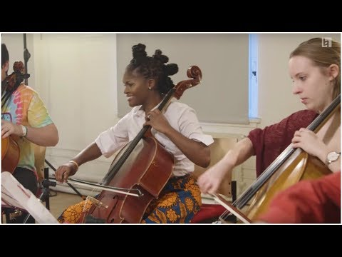 Lady Gaga & Coldplay  Bad Romance & Viva La Vida   Berklee Cellos