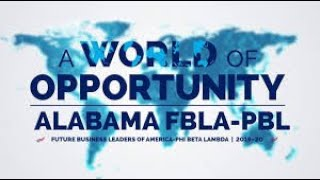 Alabama FBLA SLC Awards Program 2020