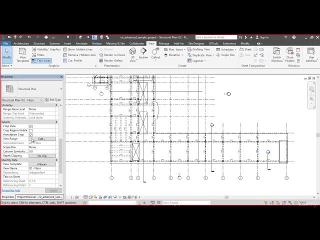 Revit Structures | 07 Descripción de Navegador de Proyecto y Propiedades Parte 2