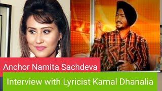 """star of the week"" On Z ETC PUNJABI ALPA PUNJABI Kamal Dhanalia[Lyricist] interview part 2 ik khaas,"