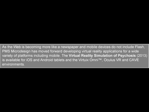 Virtual Reality Simulation of Psychosis (2013)